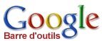 Barre d'outils Google