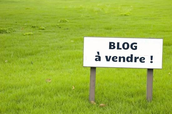 Blog à vendre
