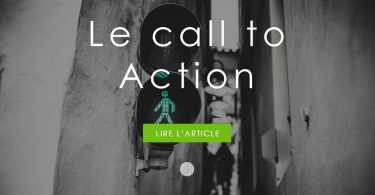 Le call to action