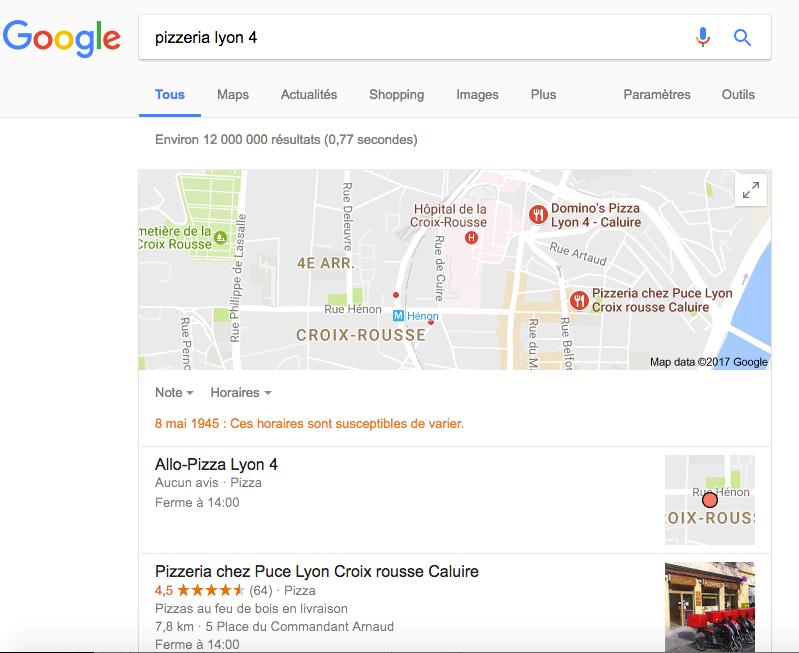 Recherche localisé